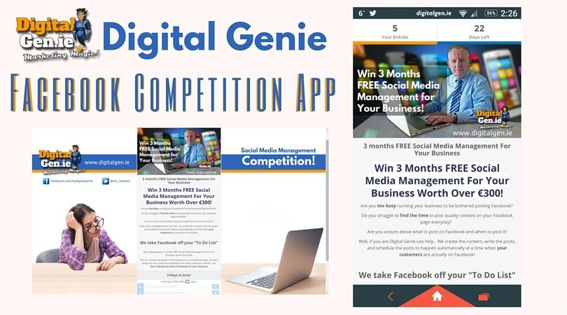 Facebook Like and Share, Facebook Competitions