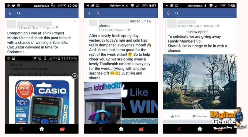 Facebook Like And Share Competitions, Facebook, Facebook Competitions