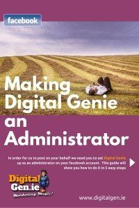 Downloads, Making Digital Genie an Administrator, Social Media Marketing, Social Media Management